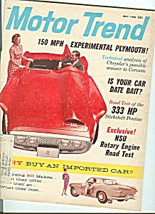 Motor Trend - May 1960 (Image1)
