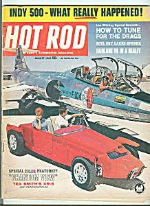 Hot Rod - August 1963
