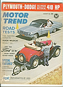Motor Trend - August 1962 (Image1)