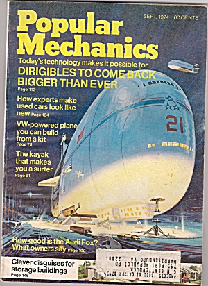 Popular Mechanics - Sept. 1974