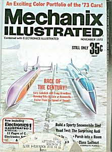 Mechanix Illustrated - November 1972 (Image1)
