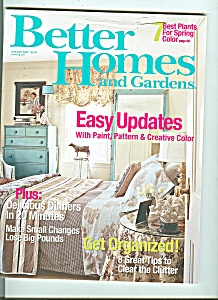 Better Homes and Gardens -  January 2007 (Image1)
