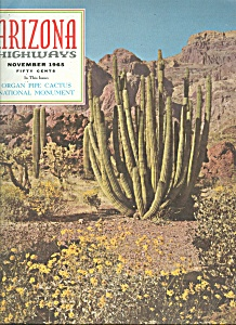 Arizona Highways - November 1965 (Image1)