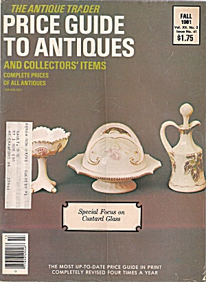 The Antique Trader price guide -  Fall 1981 (Image1)