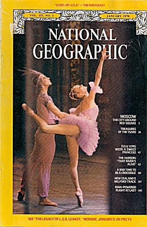 National Geographic - January 1978 (Image1)