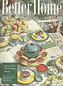 Better Homes and Gardens -  July 1951 (Image1)