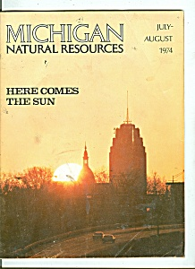 Michigan Natural resources   July - August 1974 (Image1)