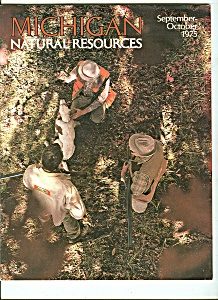 Michigan Natural Resources September-october 1975