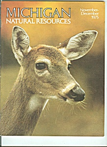 Michigan Natural Resources November-december 1975 Mi