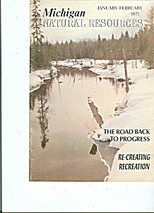 Michigan Natural Resources January-february 1971