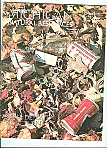 Michigan Natural Resources November-december 1974