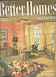 Better Homes and Gardens -  February 1951 (Image1)