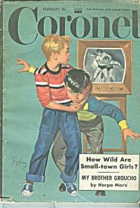 Coronet magazine -  FEbruary 1957 (Image1)