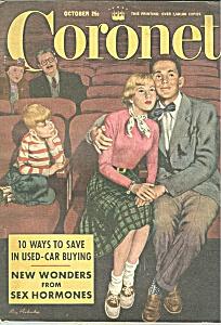 Coronet magazine -  October 1951 (Image1)