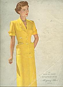 Montgomery Ward  Spring & summer catalog - 1951 (Image1)