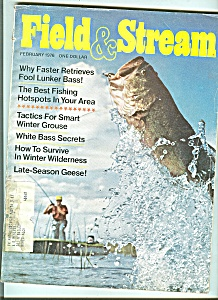 Field & Stream magazine-  February 1976 (Image1)