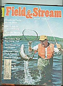 Field & Stream magazine -  May 1976 (Image1)