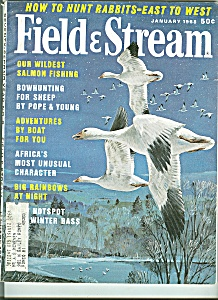 Field & Stream - January 1968