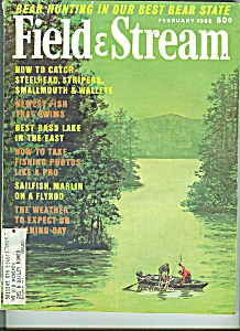 Field & Stream -  February 1968 (Image1)