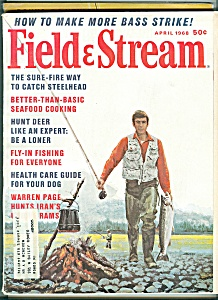 Field & Stream magazine - April 1968 (Image1)