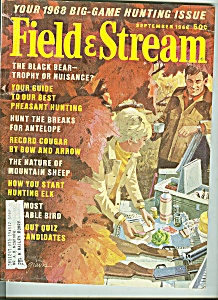 Field & Stream - August 1968 (Image1)