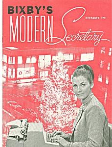 Bixby's modern secretary - December 1971 (Image1)