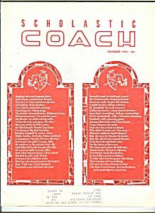 Scholastic coach - December 1970 (Image1)