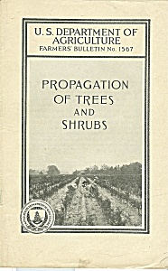 Propagation of trees an shrubs catalog - Feb. 1932 (Image1)