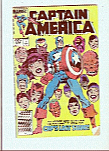 Captain America  comic book # 299  - Nov. 1984 (Image1)