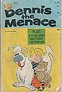 dennis the Menace No. 148 - copyright 1976 (Image1)