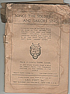 Songs the soldiers and sailors sing - 1919 (Image1)