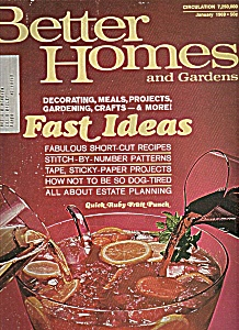 Better Homes and Gardens - January 1969 (Image1)