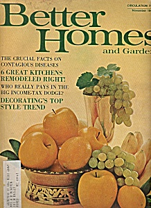 Better Homes and gardens - November 1968 (Image1)