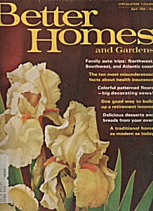 Better Homes and Gardens Magazine - April 1968 (Image1)