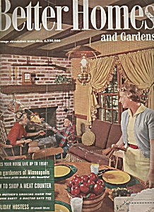 Better Homes and Gardens - January 1958 (Image1)