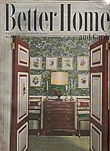 Better homes and gardens march 1949 better homes gardens 1940 39 s at joe 39 s paper shack Better homes and gardens march