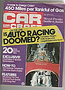 Car Craft Magazine - March 1974