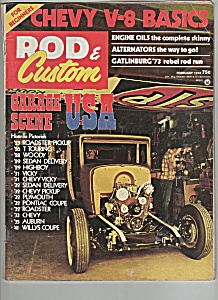 Rod & Custom -  February 1974 (Image1)