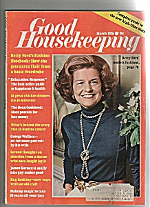 Good Housekeeping- March 1976