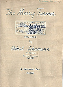 The Merry Farmer for piano music (Image1)