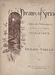 Dreams of spring--Reve de Printemps by Richard Schelle, (Image1)