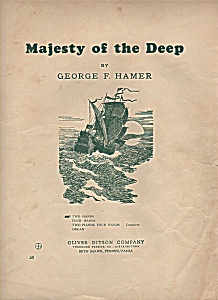 MAJESTY OF THE DEEP  music by George F. Hamer (Image1)