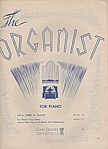 The Organist sheet music - Solo by Cedric W. Lemont (Image1)