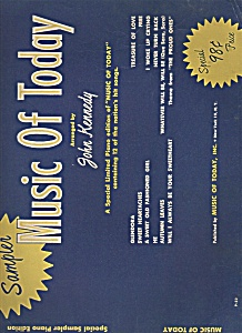 Music of Today -  by John Kennedy 1956? (Image1)
