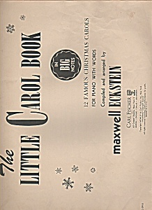 The Little Carol Book For Piano - Sheet Music -