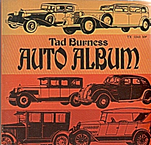 Auto Album by Tad Burness - 1969 (Image1)
