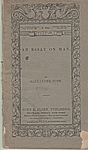 An Essay on Man by AlexanderPope - December 15  1988 (Image1)