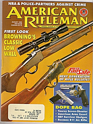 American Rifleman -  August 1975 (Image1)