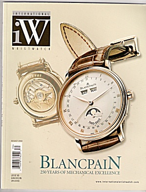 Blancpain- International wrist watches - August 2003 (Image1)