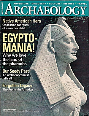 Archeology Magazine- January/February 2004 (Image1)